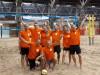 Winst tijdens het jaarlijkse beachvolleybaltoernooi